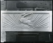 view Study for Doors for American Academy of Arts and Letters, South Gallery (detail) [sculpture] / (photographed by Peter A. Juley & Son) digital asset number 1