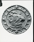 view Mariners' Museum Seal [sculpture] / (photographed by Peter A. Juley & Son) digital asset number 1