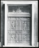 view Study for Mariners' Museum Entrance Doors [sculpture] / (photographed by Peter A. Juley & Son) digital asset number 1