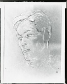view Johnathan Tichenor [drawing] / (photographed by Peter A. Juley & Son) digital asset number 1