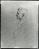 view Francis Burton Harrison Jr. [drawing] / (photographed by Peter A. Juley & Son) digital asset number 1
