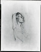view Fidelma Cadmus Kirstein [drawing] / (photographed by Peter A. Juley & Son) digital asset number 1