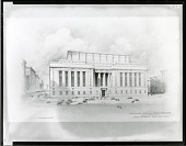view Proposed Criminal Courts Building, New York City [art work] / (photographed by Peter A. Juley & Son) digital asset number 1