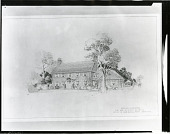 view Will, George W., Proposed Residence for [art work] / (photographed by Peter A. Juley & Son) digital asset number 1