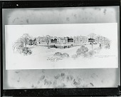 view Proposed plan for Hartwick College (unbuilt) Oneonta, New York [drawing] / (photographed by Peter A. Juley & Son) digital asset number 1