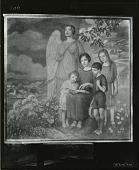 view Family and an Angel [painting] / (photographed by Peter A. Juley & Son) digital asset number 1