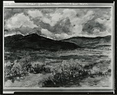 view View from La Cumbie [painting] / (photographed by Peter A. Juley & Son) digital asset number 1