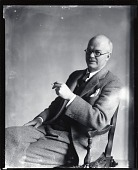 view Gordon Stevenson [photograph] / (photographed by Peter A. Juley & Son) digital asset number 1