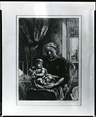 view Mother and Child [graphic arts] / (photographed by Peter A. Juley & Son) digital asset number 1