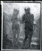 view Two Figures [painting] / (photographed by Peter A. Juley & Son) digital asset number 1