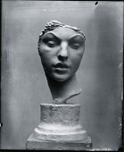 view Head of a Girl [sculpture] / (photographed by Peter A. Juley & Son) digital asset number 1