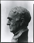 view Bust of Thomas Edison [sculpture] / (photographed by Peter A. Juley & Son) digital asset number 1