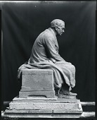 view Model for Thomas Edison Statue [sculpture] / (photographed by Peter A. Juley & Son) digital asset number 1