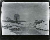 view Winter on the Mianus River [painting] / (photographed by Peter A. Juley & Son) digital asset number 1