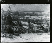 view Winter in the Connecticut Hills [painting] / (photographed by Peter A. Juley & Son) digital asset number 1