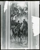 view Panel Horses [painting] / (photographed by Peter A. Juley & Son) digital asset number 1