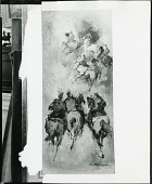 view Three Horses [art work] / (photographed by Peter A. Juley & Son) digital asset number 1