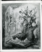view The Rooster and the Book [art work] / (photographed by Peter A. Juley & Son) digital asset number 1