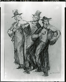 view Three Musicians [drawing] / (photographed by Peter A. Juley & Son) digital asset number 1