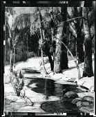 view Landscape with Stream [painting] / (photographed by Peter A. Juley & Son) digital asset number 1