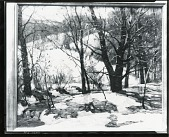 view Winter Stream [painting] / (photographed by Peter A. Juley & Son) digital asset number 1
