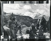 view Mountain Quiet [painting] / (photographed by Peter A. Juley & Son) digital asset number 1