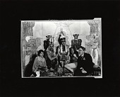 view John Sloan with students in costume at the Art Students League, New York [photograph] / (photographed by Peter A. Juley & Son) digital asset number 1