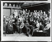 view Kenyon Cox with his class at the Art Students League, New York [photograph] / (photographed by Peter A. Juley & Son) digital asset number 1