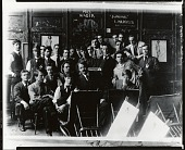 view Frank Vincent DuMond with his class at the Art Students League, New York [photograph] / (photographed by Peter A. Juley & Son) digital asset number 1