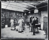 view Robert Henri's painting class at the New York School of Art [photograph] / (photographed by Peter A. Juley & Son) digital asset number 1