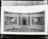 view Scale Model for Constitution and Declaration Murals [sculpture] / (photographed by Peter A. Juley & Son) digital asset number 1