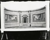 view Scale Model of the Constitution and Declaration Murals [sculpture] / (photographed by Peter A. Juley & Son) digital asset number 1