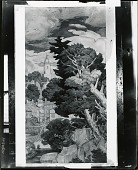 view Study for New England Landscape Mural at Phillips Academy, Andover, Massachusetts [drawing] / (photographed by Peter A. Juley & Son) digital asset number 1