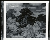 view New England Landscape Mural [painting] / (photographed by Peter A. Juley & Son) digital asset number 1