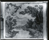 view Study for New England Landscape Mural at Phillips Acadmey, Andover, Massachusetts [drawing] / (photographed by Peter A. Juley & Son) digital asset number 1