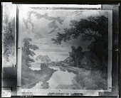view Study for New England Landscape Mural at Phillips Academy, Andover, Massachusetts [painting] / (photographed by Peter A. Juley & Son) digital asset number 1