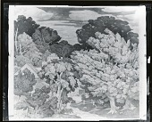 view Study for New England Mural at Phillips Academy, Andover, Massachusetts [drawing] / (photographed by Peter A. Juley & Son) digital asset number 1