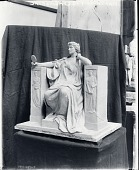view Model for Marshall Field Monument [sculpture] / (photographed by Peter A. Juley & Son) digital asset number 1