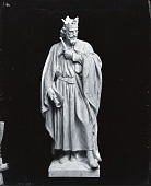 view Model for Edward I [sculpture] / (photographed by Peter A. Juley & Son) digital asset number 1