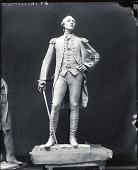 view Model for Marquis de Lafayette [sculpture] / (photographed by Peter A. Juley & Son) digital asset number 1