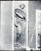 view Model for panel for Butt-Millet Memorial Fountain [sculpture] / (photographed by Peter A. Juley & Son) digital asset number 1