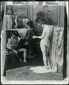 view The Artist in His Studio [painting] / (photographed by Peter A. Juley & Son) digital asset number 1