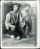 view Spanish Mendicants [painting] / (photographed by Peter A. Juley & Son) digital asset number 1