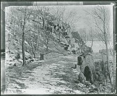 view A Road by the Palisades, New Jersey [painting] / (photographed by Peter A. Juley & Son) digital asset number 1