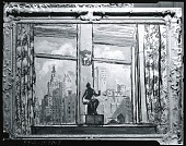 view Window and Sculpture [painting] / (photographed by Peter A. Juley & Son) digital asset number 1