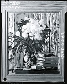 view Still Life: Flowers and Books [painting] / (photographed by Peter A. Juley & Son) digital asset number 1