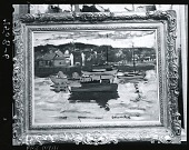view Boats in the Harbor [painting] / (photographed by Peter A. Juley & Son) digital asset number 1