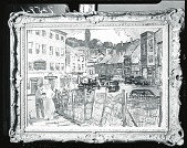 view Conversation in Town [painting] / (photographed by Peter A. Juley & Son) digital asset number 1