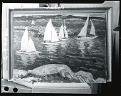 view Sailboats [painting] / (photographed by Peter A. Juley & Son) digital asset number 1