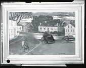 view Neighborhood Street [painting] / (photographed by Peter A. Juley & Son) digital asset number 1